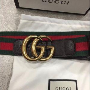 Men's Gucci Web Belt